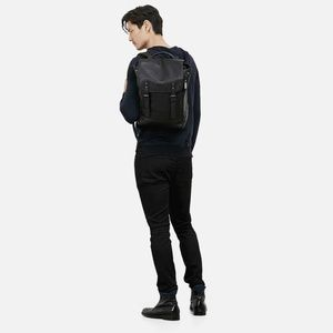 Kenneth Cole Colombian Leather FLAPOVER BACKPACK